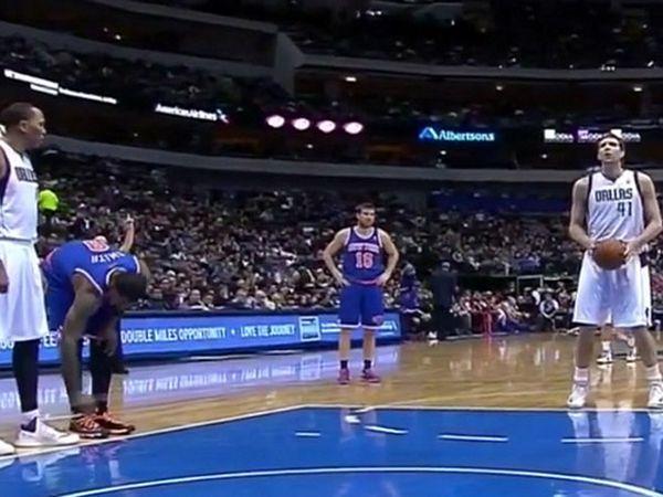 Košarkaš Njujorka protivnicima odvezivao pertle