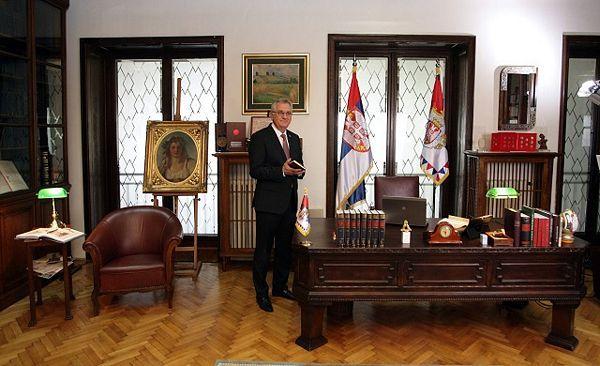 Srbija: Zgrada Predsjedništva osveštana nakon sedam decenija