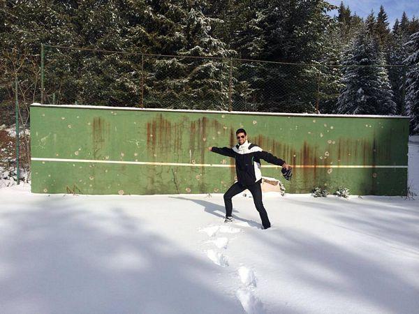 Đoković na Kopaniku: Bombe uništile prostor gdje je prvi put udarao loptice