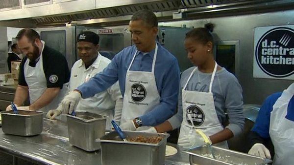 Obama kuvao za beskućnike