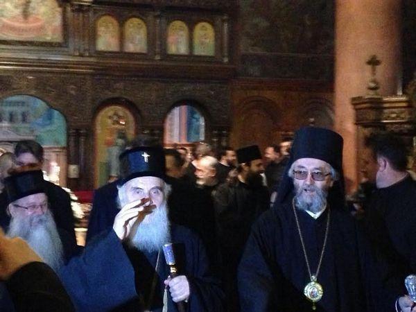 Patrijarh Irinej stigao u Banjaluku (FOTO)