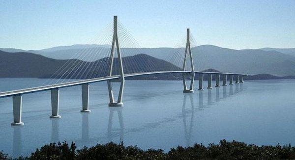 Hrvatska će praviti Pelješki most