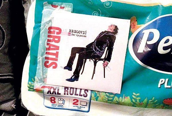 Bregovićev novi album prodaju uz toalet-papir
