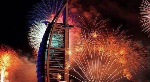 Dubai: Vatromet za Ginisa (VIDEO)