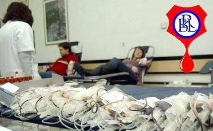 Akcija FK Rekreativo: Dobrovoljci koji daju krv