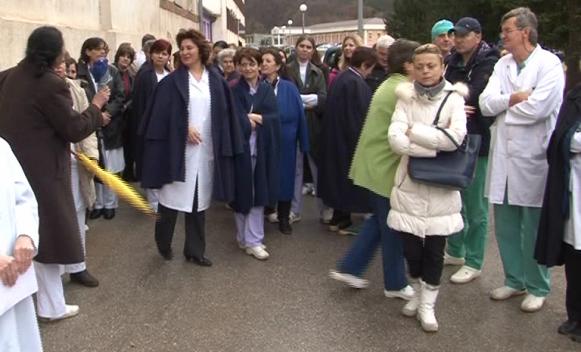 """Novi štrajk upozorenja u bolnici """"Kasindo"""" (VIDEO)"""
