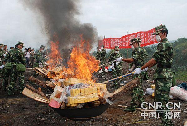 Kineske vlasti zaplijenile tri tone droge u narko-selu