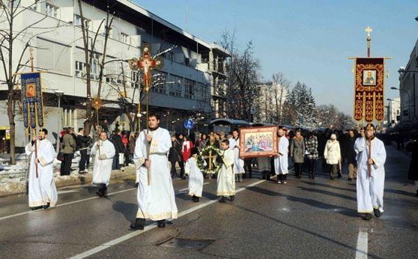 Obustava saobraćaja zbog održavanja Bogojavljenske litije u nedjelju