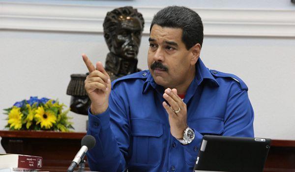 """Maduro: Država će reagovati """"željeznom pesnicom"""""""