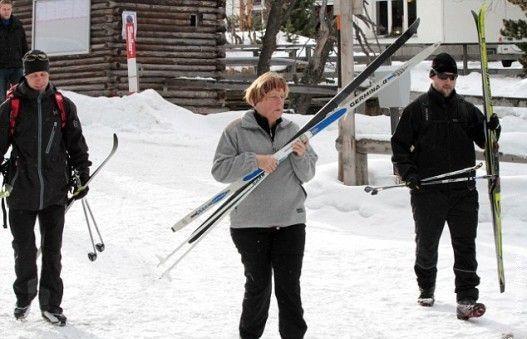 Merkelova se povrijedila na skijanju
