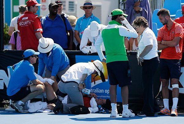 Vrućina na Australijen openu: Teniseri i sakupljači padali u nesvijest