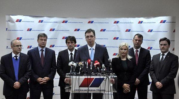 Zasjeda vrh SNS, odluka o izborima