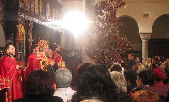 Vladika Jefrem služiće u ponoć arhijerejsku Božićnu liturgiju