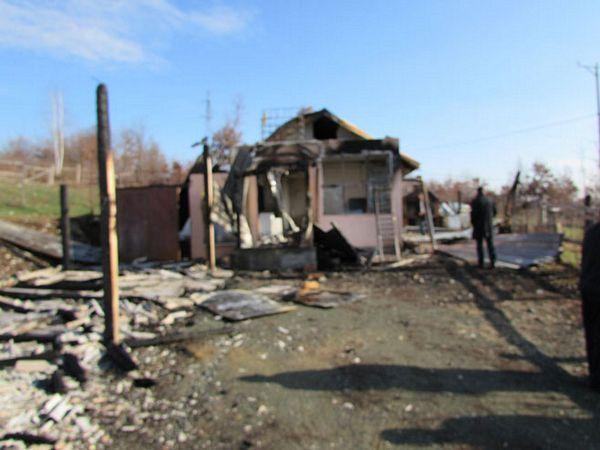 Kozara kod Banjaluke: Zapaljena kuća Mirka Agatića
