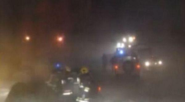 Nekoliko stotina ljudi zavejano između Zrenjanina i Beograda