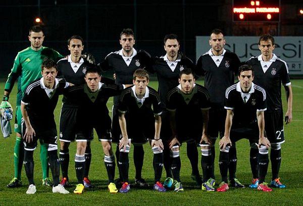 Partizan i Sarajevo poslije 20 god.