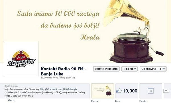 Hvala za 10 000 lajkova!
