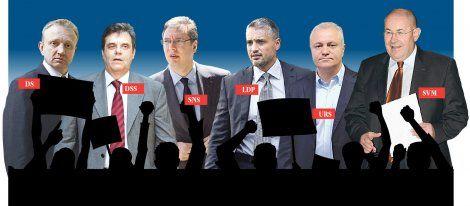 Slogani i parole: S čim će srpske stranke pred birače?