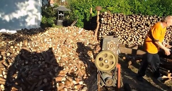 Ruska inovacija za rezanje drva (VIDEO)