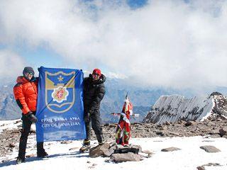 Zastava Banjaluke i na najvišem vrhu Južne Amerike