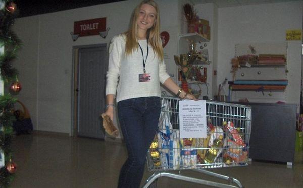 Centar čovjek: Prikupljanje namirnica za ugrožene