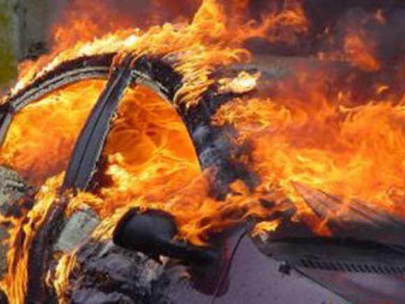 Zapaljen automobil koji koristi direktor ŠG Romanija