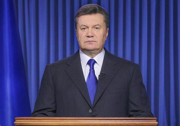 Janukovič proglasio primirje