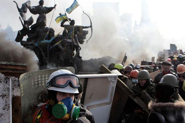 """""""Antiteroristička akcija"""" u Kijevu"""