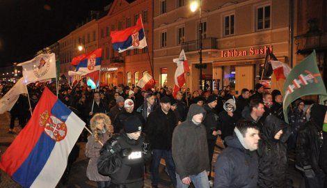 'Kosovo je Srbija': Protesti širom Poljske, Češke i Slovačke (FOTO)
