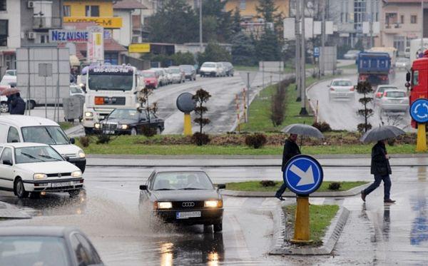 Potop na ulicama Banjaluke