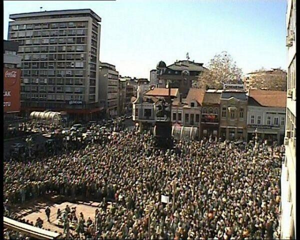 Niš: Masovan protest protiv nasilja