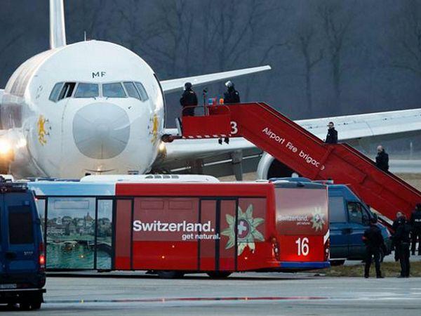 Oteti etiopski avion prisilno sletio u Švajcarskoj