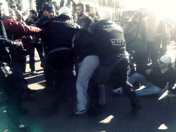 Podgorica: Sukob policije i demonstranata