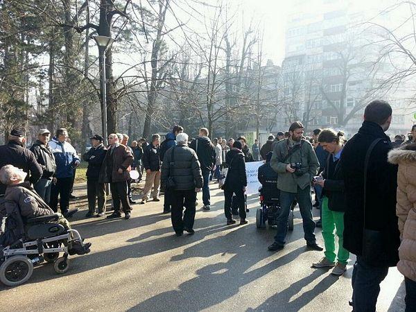 """Protesti: U Banjaluci se čulo """"Lopovi, lopovi.."""""""