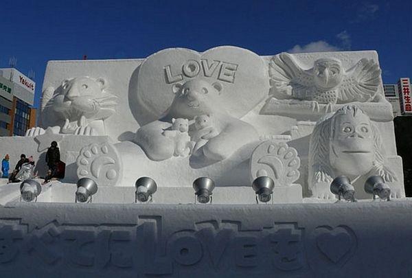 Pogledajte japanske skulpture od snijega (FOTO)