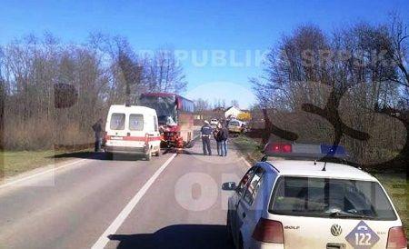 Sudar na prijedorskoj cesti, jedan muškarac poginuo