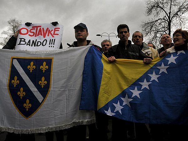 Sarajevo: Građani se razišli, pušteno iz pritvora 33 demonstranta