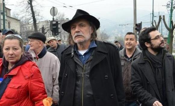Sarajevo: Sa demonstrantima i Rade Šerbedžija