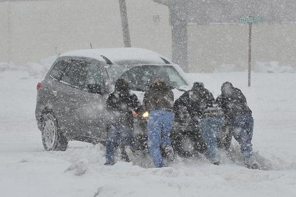Sniježna oluja se približava Kanadi