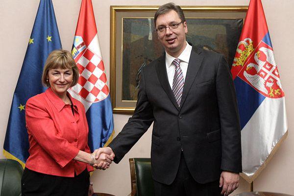 Pusićeva i Vučić: Nema povlačenja tužbi za genocid