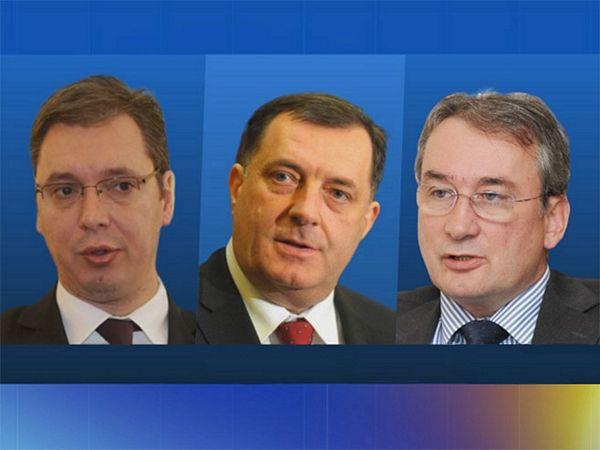 Vučić danas s Dodikom i Bosićem