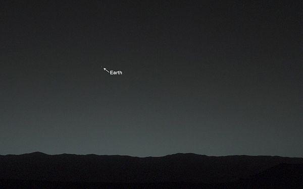 Da li se sa Marsa vidi Zemlja?