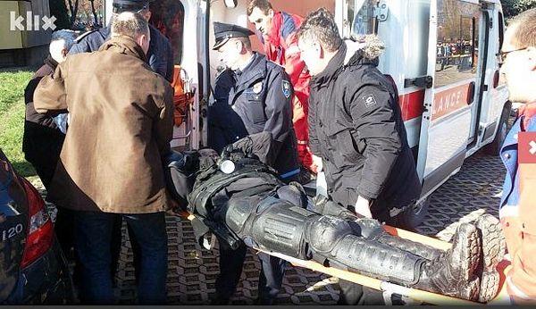 Zenica: Gori zgrada Vlade ZDK, demonstranti ušli u objekt