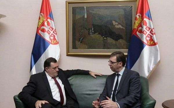 Dodik sutra popodne sa Vučićem