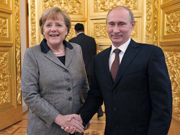 Putin razgovarao sa Merkelovom