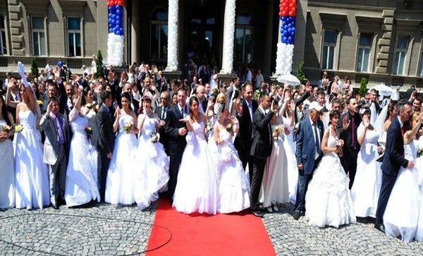 Beograd: Kolektivno vjenčanje više od 100 parova