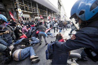 Pariz/Rim: Protesti i sukobi zbog mjera štednje
