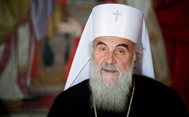 Patrijarh Irinej služio moleban za prestanak nevremena