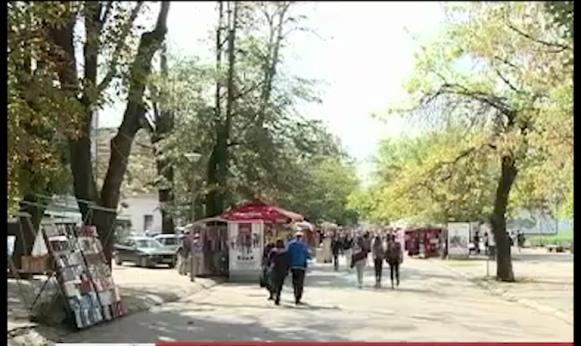 U centru Banjaluke kao na vašaru (VIDEO)