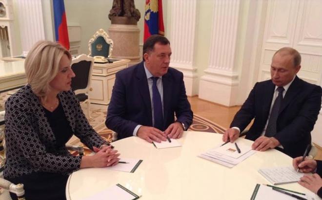 Sastanak Dodika, Cvijanovićeve i Putina